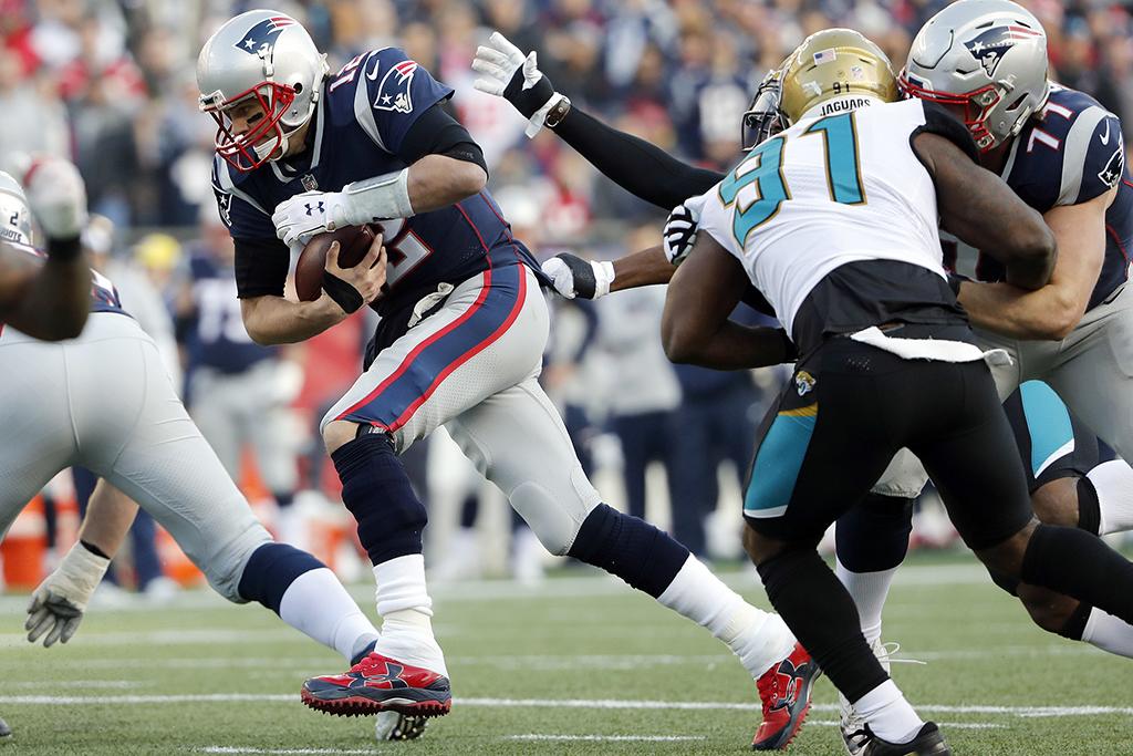 New England Patriots quarterback Tom Brady Under Armour
