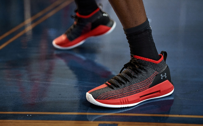 Dennis Smith Under Armour UA Heat Seeker