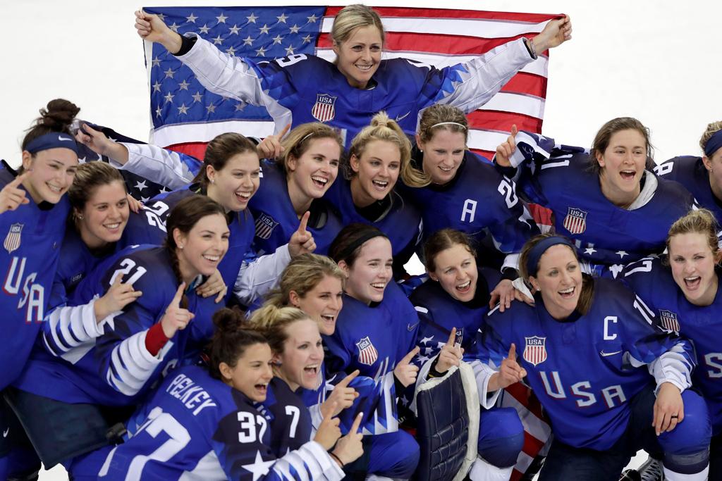 U.S. Women's Hockey Team Olympics