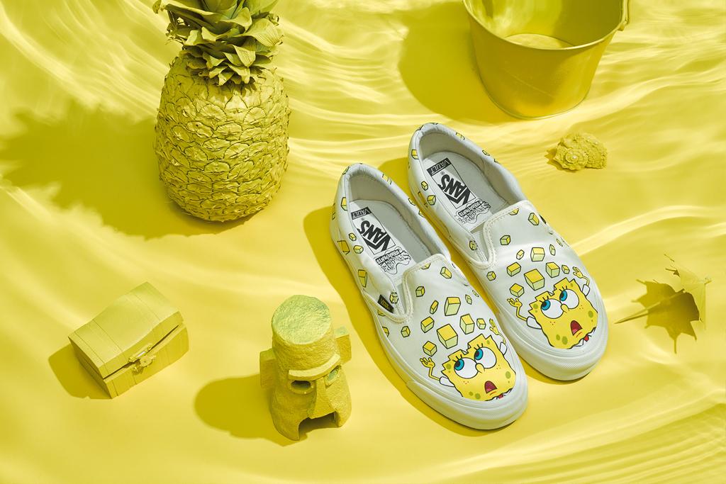SpongeBob SquarePants x Vans Slip-On