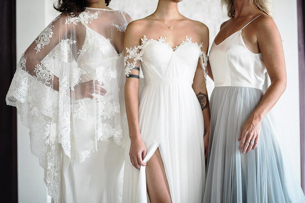 Wedding Dress Shop Grey Pearl