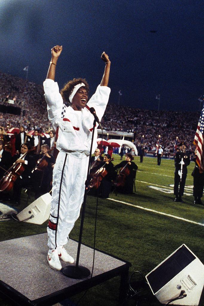Whitney Houston Super Bowl National Anthem