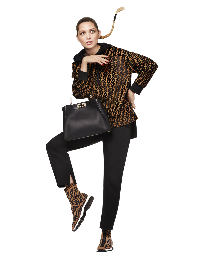 A look from the Fendi FF Capsule Collection