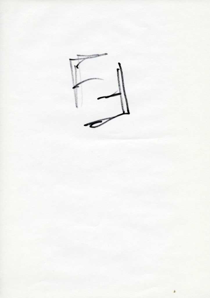 Karl Lagerfeld's FF logo from 1965