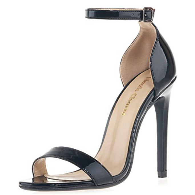 heels charm sandals