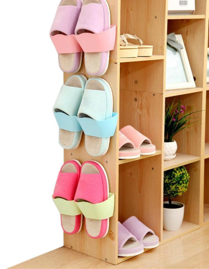 FineFineBest Wall Mounted Shoe Rack