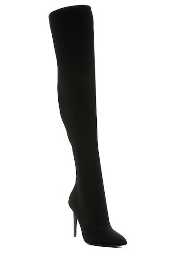 Kendall & Kylie Anabel II Knit Over-the-Knee Boot