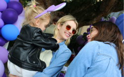emma roberts, Akid's Star-Studded Easter Egg