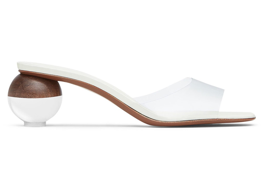 Neous Clear Opus PVC Sandals, clear shoes