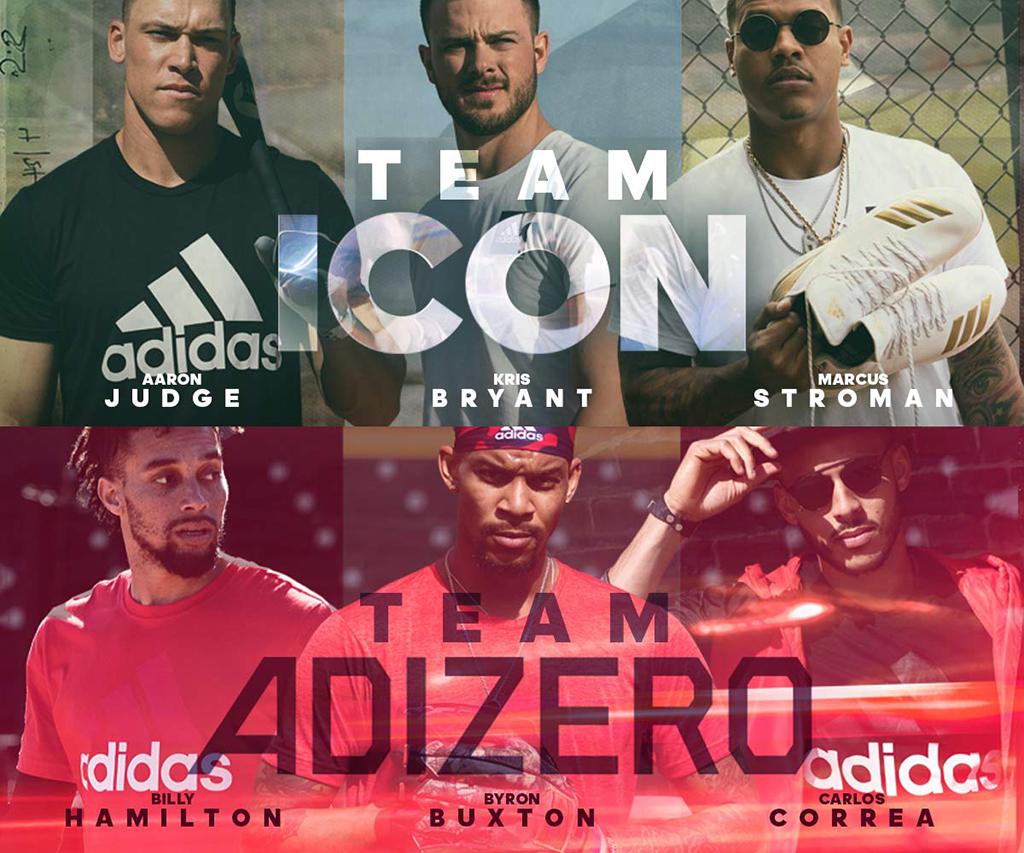 Baseball Adidas Chicago Cubs Kris Bryant 2018 Adizero Afterburner 2018 Boost Icon