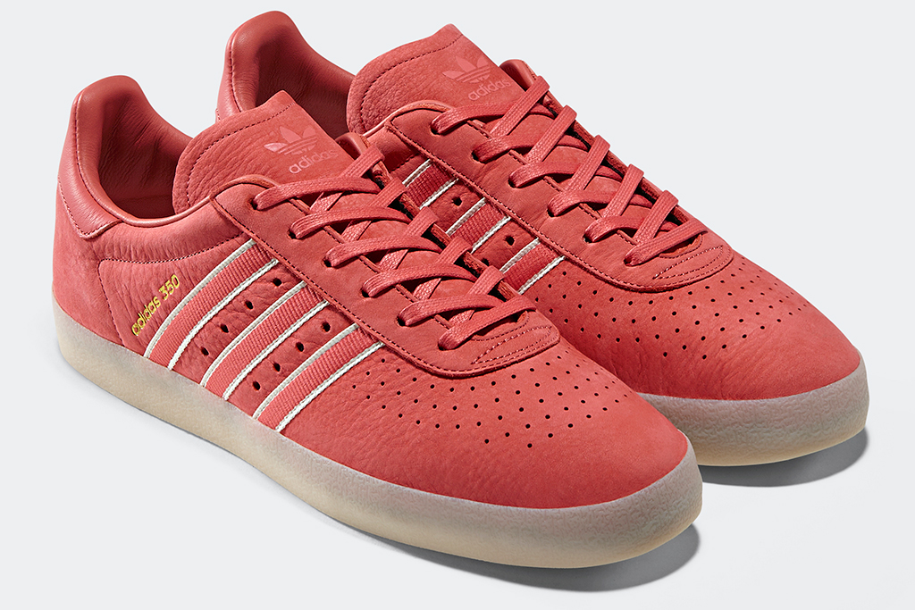 Adidas Oyster Holdings 350 Trace Scarlet