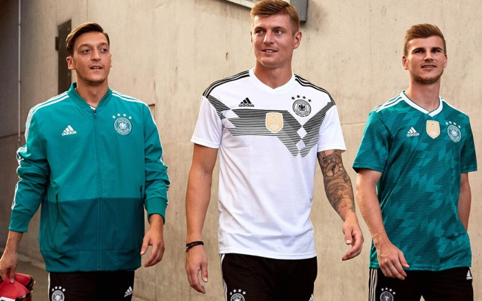 World Cup kits for Germany