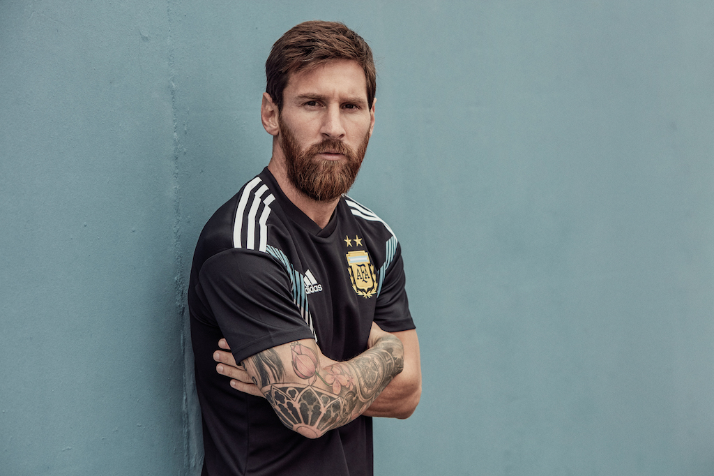 Argentina will wear black for the first time at the 2018 World Cup