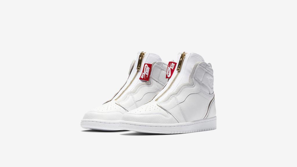 contar hasta desvanecerse Solitario  Jordan Brand Embraces Women With Air Jordan 1 High Zip Release – Footwear  News