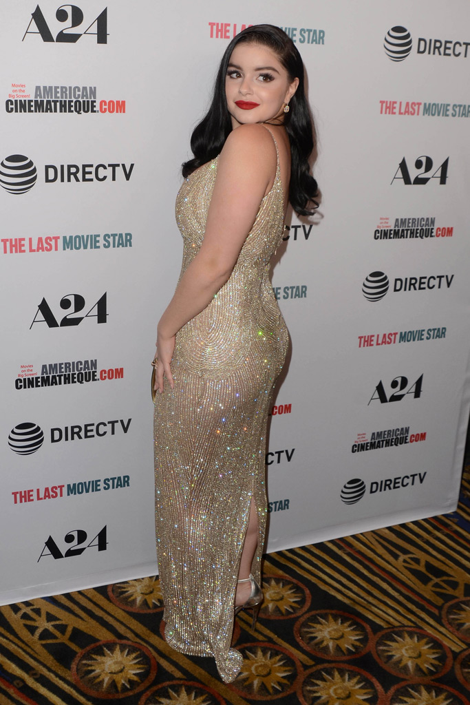 ariel winter, red carpet, the last movie star, old hollywood glam