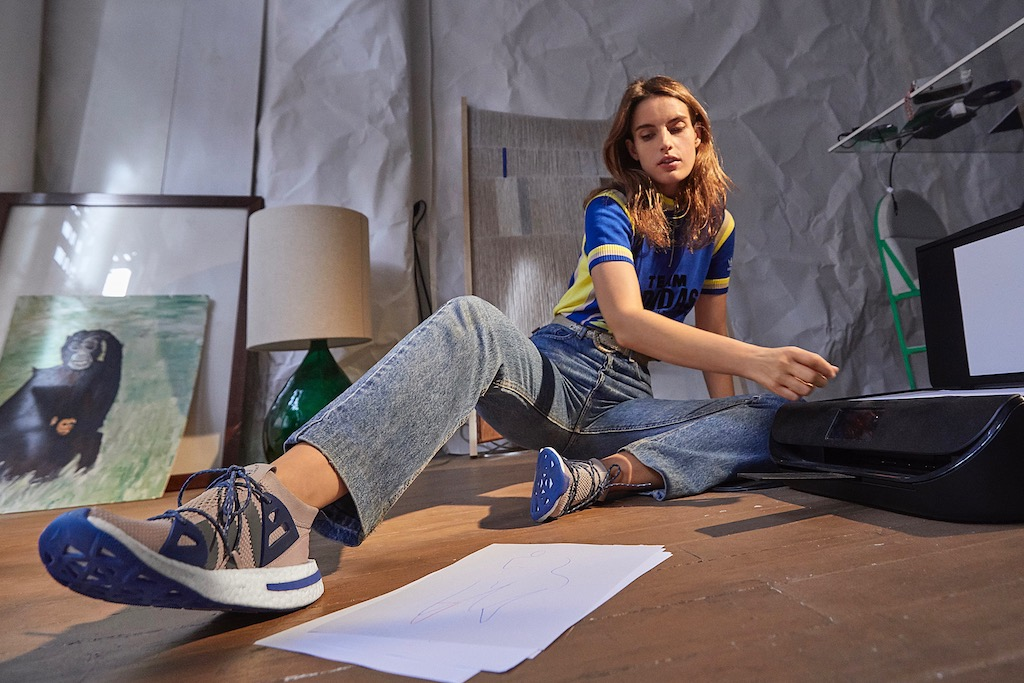 Ana Kras in the new Adidas Arkyn