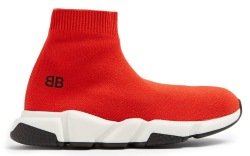 Balenciaga kids' speed trainer.