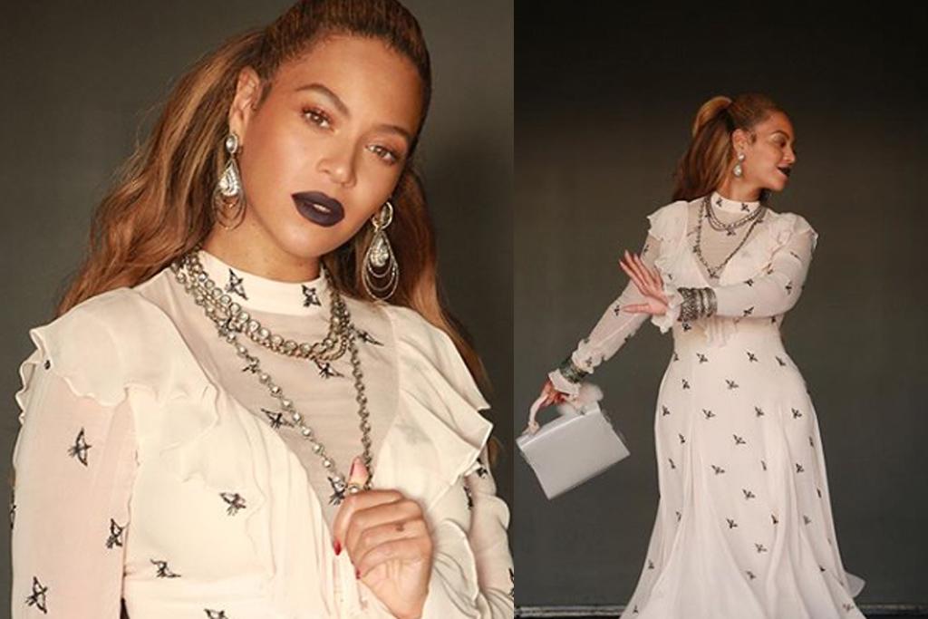 Beyoncé Rocks Tom Ford's Clear Shoes