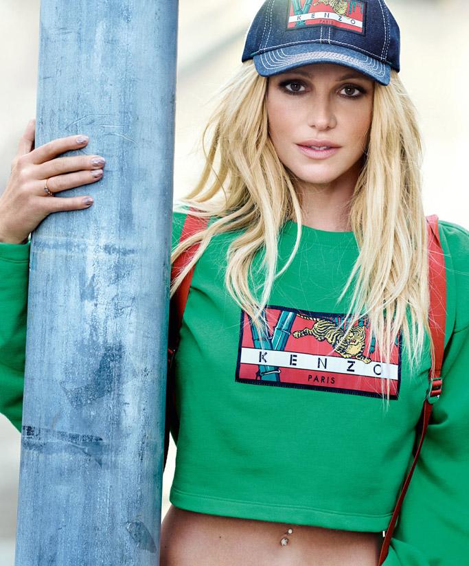 Britney Spears x Kenzo