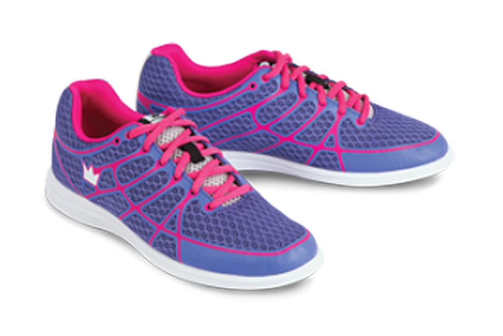 Brunswick Aura Purple Pink Womens Bowling Shoes