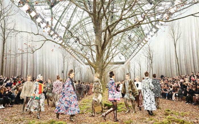 chanel fall 2018, paris fashion week