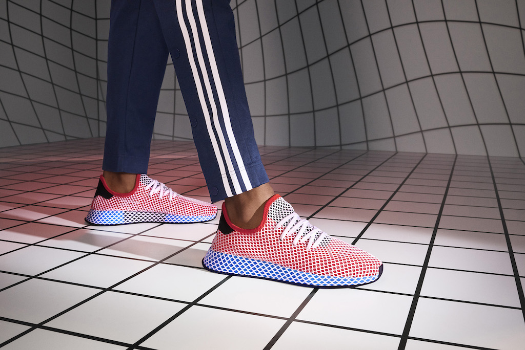 Adidas Deerupt Grid Shoes Launch — and