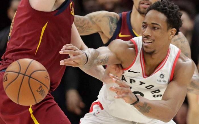 NBA DeMar DeRozan Toronto Raptors