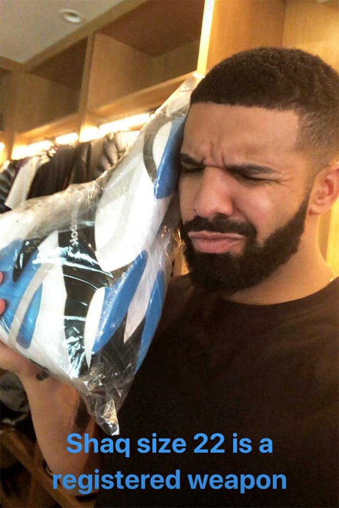 Drake Shaq Sneakers