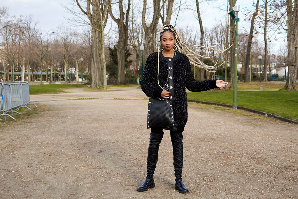 paris fashion week, street style, candace marie