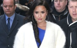 Demi Lovato stepped out after appearing