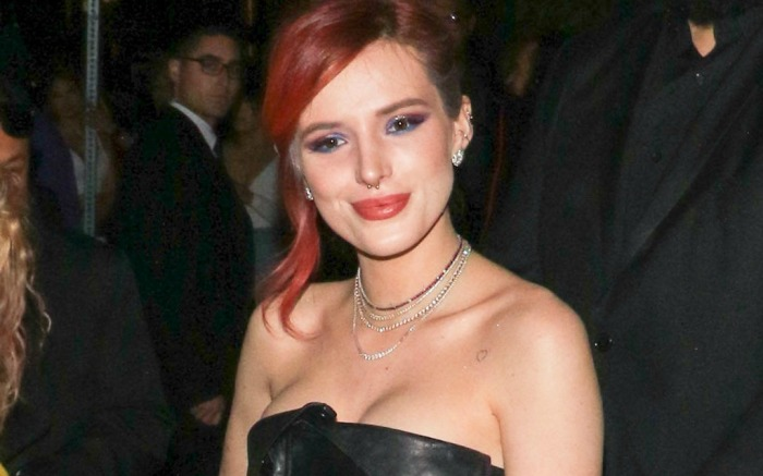 Bella Thorne rocks an all-black look while out and about in Hollywood.