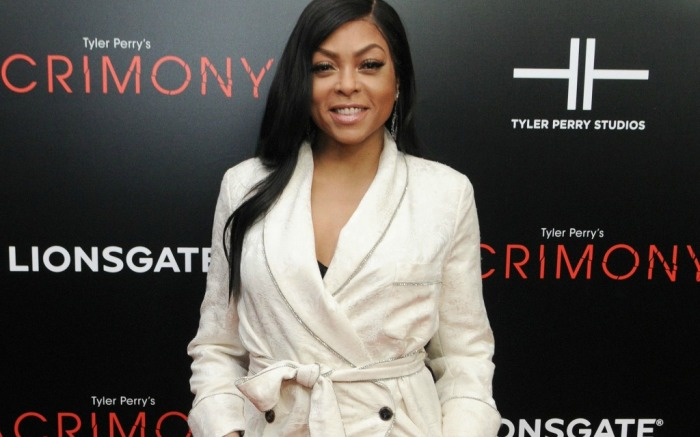 Taraji P. Henson wears a knockout look on the red carpet.