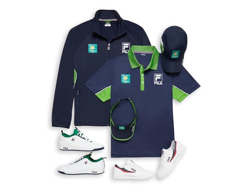 Fila x BNP Paribas Open collection