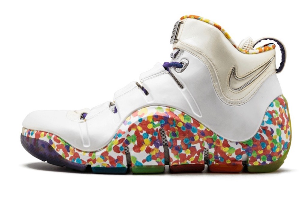 Nike LeBron 4 in Fruity Pebbles form