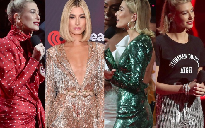 Hailey Baldwin iheartradio music awards