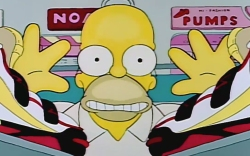Assassins sneakers Homer Simpson The Simpsons