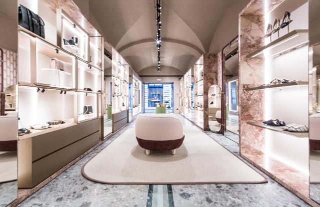 Sergio Rossi boutique Rome