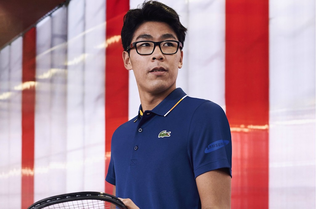 Lacoste and Hyeon Chung