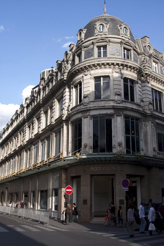Le Bon Marche, department stores