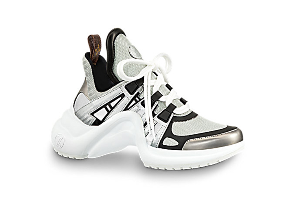 dad shoe trend, louis vuitton archlight sneakers