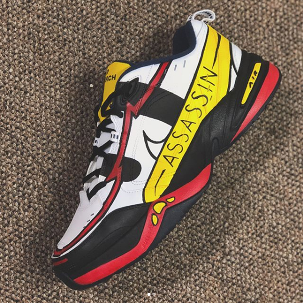 Assassins sneakers Homer Simpson The Simpsons Mache