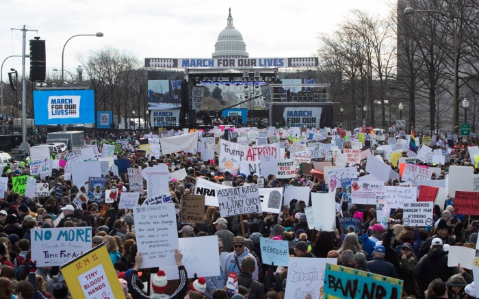 March for Our Lives, Washington d.c.