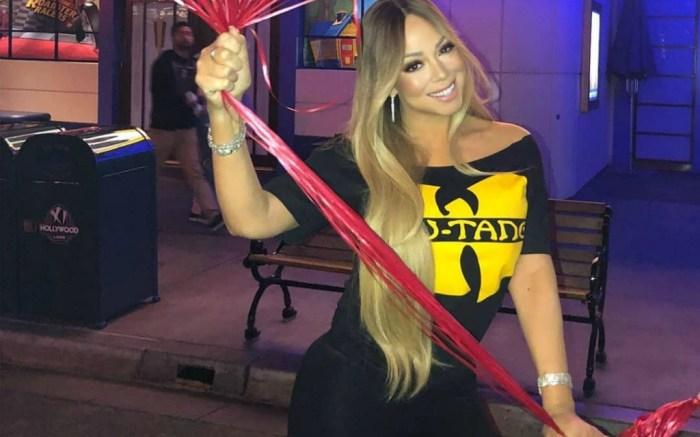 Mariah Carey shares an inside look of her birthday celebration on social media.