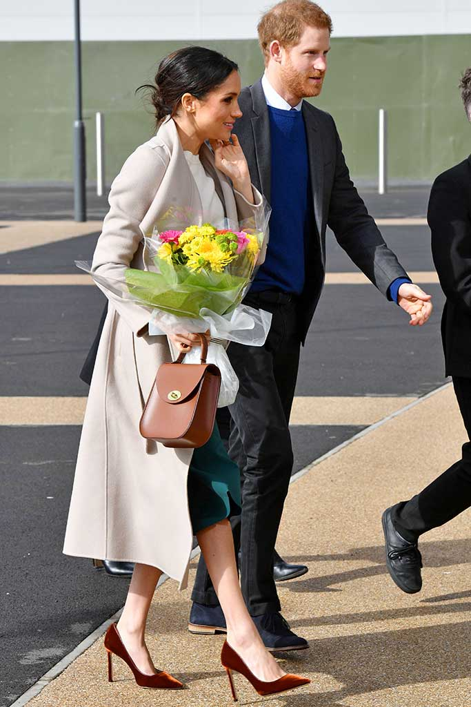 Meghan Markle and Prince Harry in Belfast.
