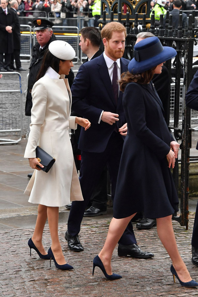 Meghan Markle, Prince Harry and Kate Middleton