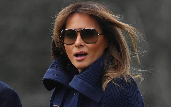 Melania Trump chloe coat
