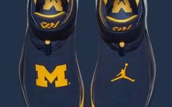 University of Michigan Jordan player edition