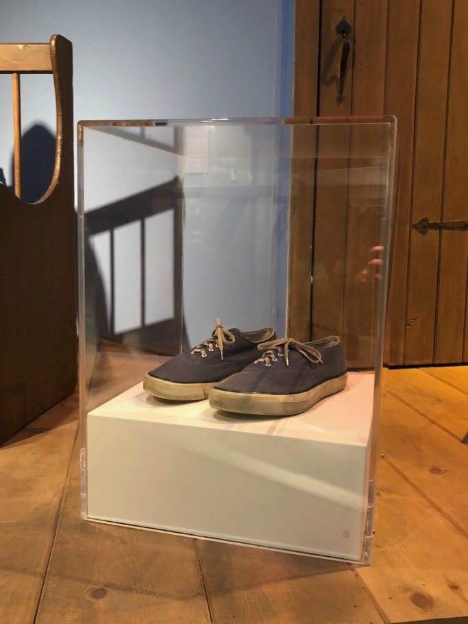 Mister Rogers Sweater Shoes Are On Display Step Into His World Footwear News