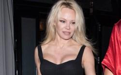 Pamela Anderson, craigs restaurant