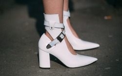 Paris Fashion Week Fall '18 Street Style